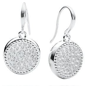 Chamilia Silver & Swarovski Zirconia Astor Circle Earrings - Product number 2469391