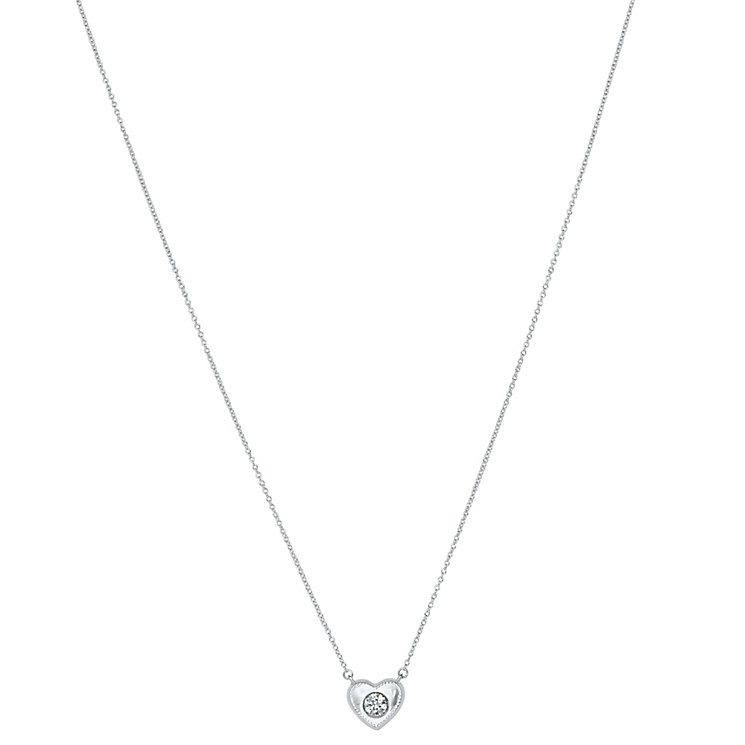 Chamilia Silver & Swarovski Zirconia Whole Hearted Pendant - Product number 2469405