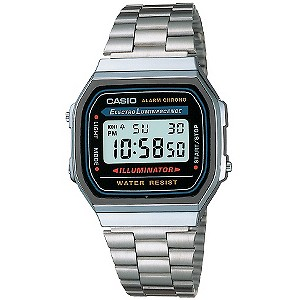 Casio Watch with Stopwatch and Daily Alarm