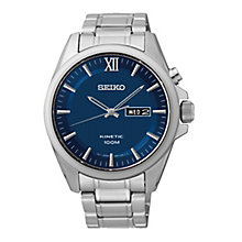 Seiko Core Kinetic men's stainless steel bracelet watch - Product number 2513358
