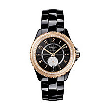 Chanel j12 Ladies' Black Ceramic Bracelet Watch - Product number 2513676