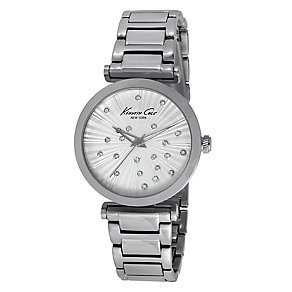 Kenneth Cole Ladies' Stainless Steel Crystal Watch - Product number 2517345