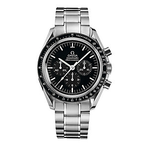 Omega men's stainless steel bracelet watch - Product number 2523442