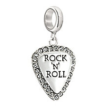 Chamilia sterling silver Rock'N'Roll guitar pick charm - Product number 2532611