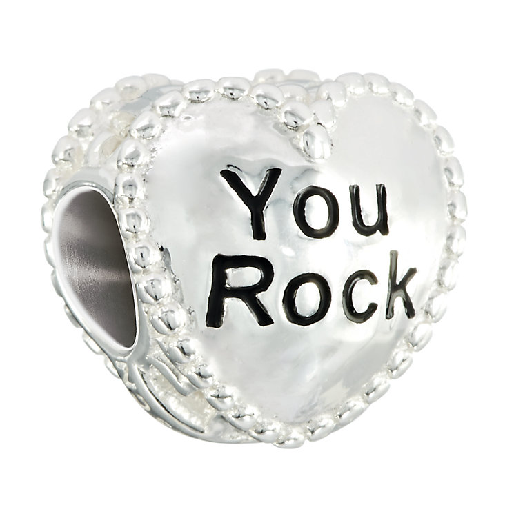Chamilia sterling silver I Want Candy- You Rock silver bead - Product number 2532646
