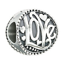 Chamilia Groovy Kind of Love sterling silver bead - Product number 2532662