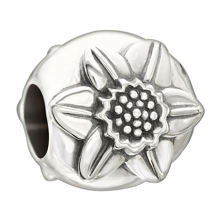 Chamilia Flower of the Month- March Daffodil silver bead - Product number 2532689