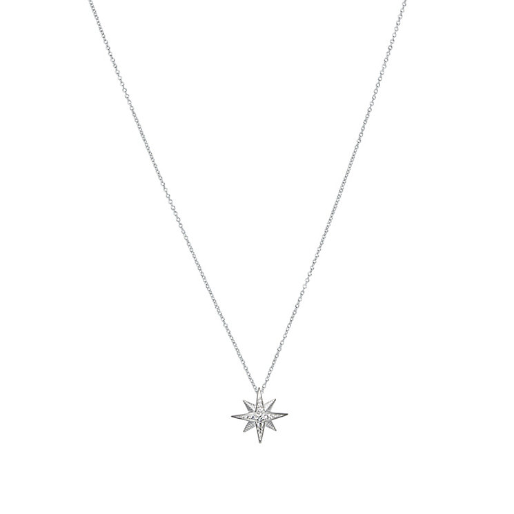 Chamilia True North sterling silver crystal set necklace - Product number 2532727