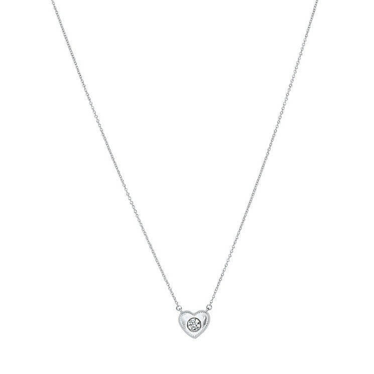 Chamilia Whole Hearted sterling silver heart pendant - Product number 2532735