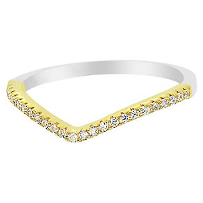 Tresor Paris Allure crystal & yellow gold-plated ring size L - Product number 2537087