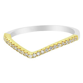 Tresor Paris Allure crystal & yellow gold-plated ring size N - Product number 2537095