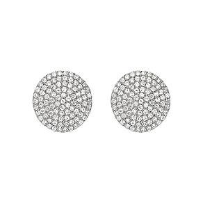 Tresor Paris Vega silver crystal 12mm stud earrings - Product number 2537273