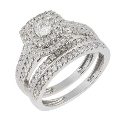 Engagement and wedding ring sets uk