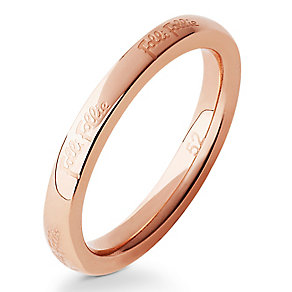 Folli Follie rose gold-plated ring size N - Product number 2542706