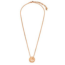 Folli Follie Classy Flash rose gold-plated necklace - Product number 2542773