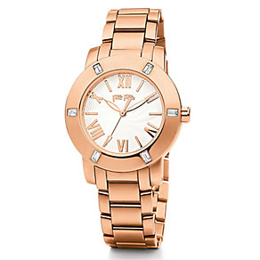 Folli Follie Donatella ladies' rose gold-plated watch - Product number 2542803