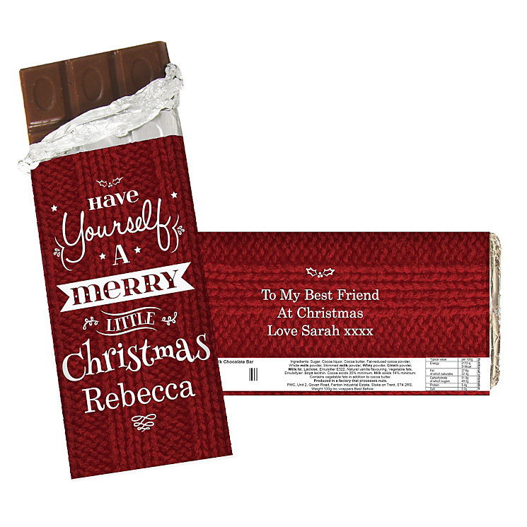 Have Yourself A Merry Little Christmas Chocolate Bar - Product number 2547856