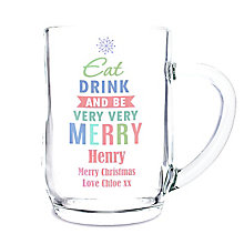 Eat Drink & Be Merry Tankard - Product number 2547910