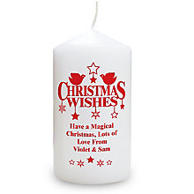 Christmas Wishes Candle - Product number 2547937