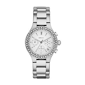 DKNY Ladies' Chambers Stainless Steel Bracelet Watch - Product number 2548135