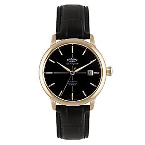 Rotary Les Originales Men's Rose Gold Plated Watch - Product number 2548844