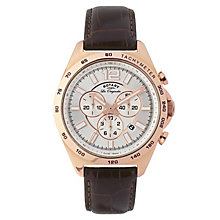 Rotary Men's Rose Gold Plated Chronograph Watch - Product number 2548860