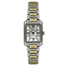Rotary Ladies' Mother Of Pearl Two Tone Watch - Product number 2548976