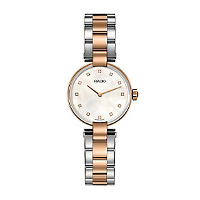Rado ladies' two colour diamond set bracelet watch - Product number 2550075