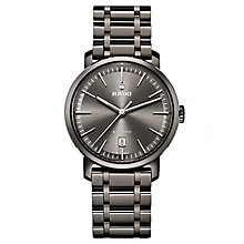 Rado men's black ceramic diamond set bracelet watch - Product number 2550083