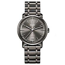 Rado men's black ceramic diamond set bracelet watch - Product number 2550083