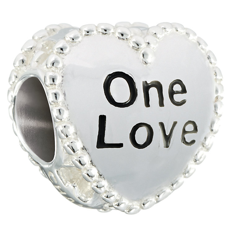 Chamilia Sterling Silver I Want Candy One Love Bead - Product number 2551098