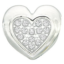 Chamilia Silver & Swarovski Crystal Electric Love Bead - Product number 2551152