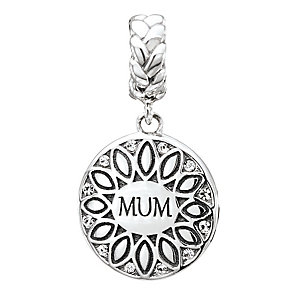 Chamilia Silver & Swarovski Crystal Mum Sunflower Bead - Product number 2551519
