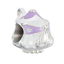 Chamilia Sterling Silver & Crystal Teapot Bead - Product number 2551527