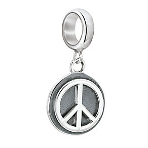 Chamilia Sterling Silver Peace Is The Way Bead - Product number 2551594