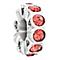 Chamilia Silver & Orange Swarovski Crystal Whimsy Bead - Product number 2551608