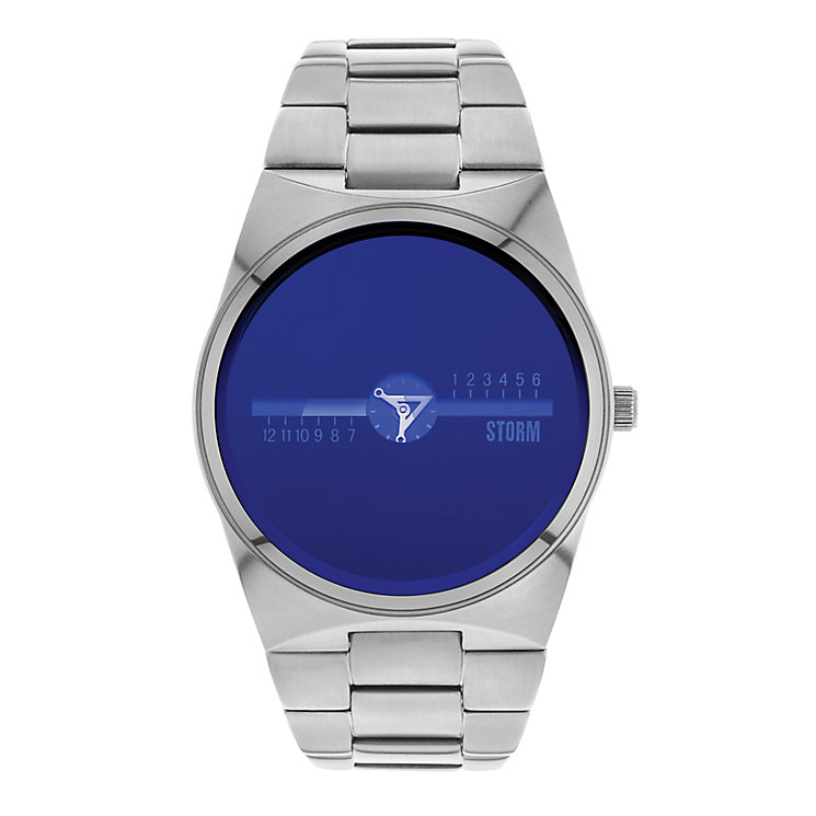 Storm Men's Metrox Blue Dial & Stainless Steel Watch - Product number 2552701