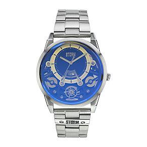 STORM Men's Mechron Blue Skeleton Dial Watch - Product number 2552736