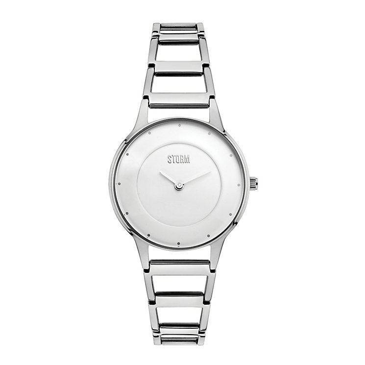 STORM Ladies' Rella Stainless Steel Ladder Strap Watch - Product number 2553597
