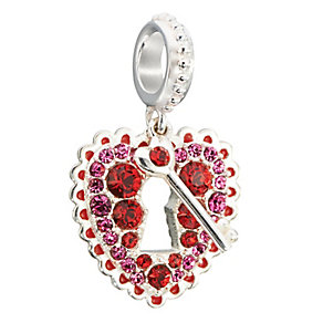 Chamilia love lock sterling silver padlock bead - Product number 2583410