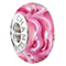 Chamilia sound waves raspberry beret bead - Product number 2583542