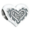Chamilia sterling silver Mum heart bead - Product number 2583569