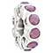 Chamilia whimsy charm with cyclamen opal swarovski - Product number 2587912