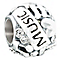 Chamilia music heals the soul sterling silver charm - Product number 2590425