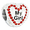 Chamilia my girl candy heart bead - Product number 2590441