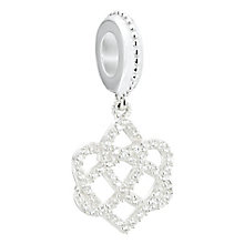 Chamilia sterling silver Celtic love knot bead - Product number 2591243