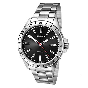 Sekonda Men's Stainless Steel Bracelet Watch - Product number 2600447