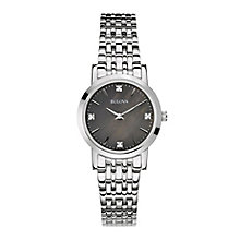 Bulova ladies' stainless steel bracelet watch - Product number 2600765