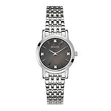 Bulova ladies' stainless steel bracelet watch - Product number 2600765
