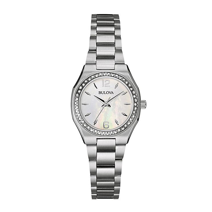 Bulova ladies' stainless steel bracelet watch - Product number 2600781